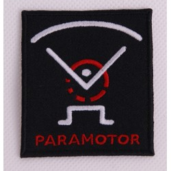 Naszywka Paramotor średnia