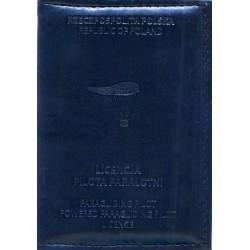 Okładka na licencję pilota paralotni