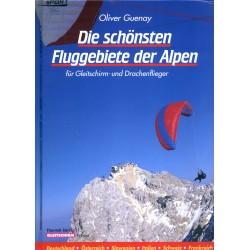 Książka - podręcznik z miejscami do latania w Europie - ALPY