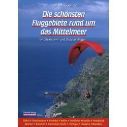Książka - podręcznik z miejscami do latania nad Morzem Śródziemnym